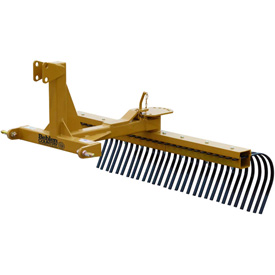 Behlen Country 6' Medium Duty Landscape Rake Tractor Attachment 80110630 Category 1 by