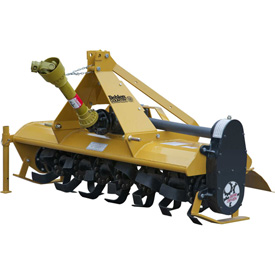 Behlen Country 5' Gear Driven Rotary Tiller Implement 80118050 with Adjustable Feet Category 1 by