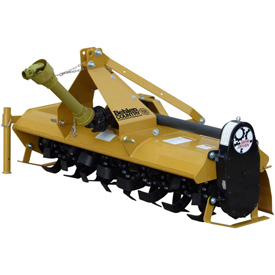 Behlen Country 6' Gear Driven Rotary Tiller Implement 80118060 with Adjustable Feet Category 1 by