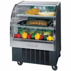 "Curved Glass Refrigerated Product Merchandiser CDR Series, 37-3/16""W - CDR3"