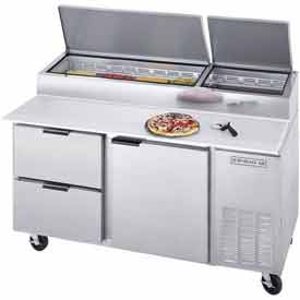 "Beverage Air DPD67-2 Deli/Pizza Prep Tables W/ Drawers Dpd Series, 67""W by"