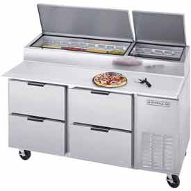 "Deli/Pizza Prep Tables w/ Drawers DPD Series, 67""W DPD67-4 by"