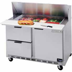 "Food Prep Tables SPED48 Elite Series Standard Top w/ Drawers, 48""W - SPED48-12-4"