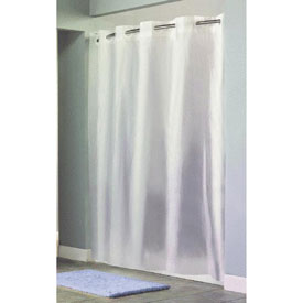 Swing-A-Way RBH14FC844 Hookless Shower Curtain by