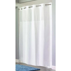 Swing-A-Way RBH40MY843 Hookless Shower Curtain by