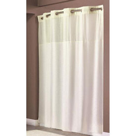 Swing-A-Way RBH40MY302 Hookless Shower Curtain by
