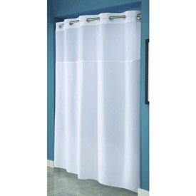 Swing-A-Way RBH40MY231 Hookless Shower Curtain by