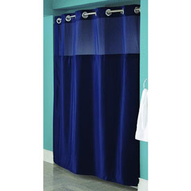 Swing-A-Way RBH40MY297 Hookless Shower Curtain by