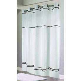 Swing-A-Way RBH40ES305 Hookless Shower Curtain by