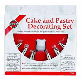 Norpro 3562 Pastry Bag Decorating Kit by