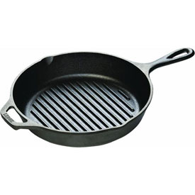 Lodge Mfg Co L8GP3 Lodge Logic Cast-Iron Skillet Grill Pan by