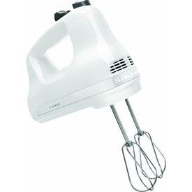 Kitchenaid KHM512WH KitchenAid 5-Speed Hand Mixer by