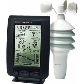 Chaney Instrument 00634A2 Wind Weather Center Weather Station by