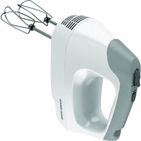 Spectrum Brands/Black & Decker MX3000W Black & Decker 6-Speed Hand Mixer by