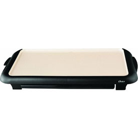 Jarden Consumer Solutions CKSTGRFM18W-ECO Oster Electric Griddle With Warming Tray by