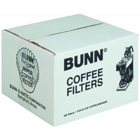 Bunn-O-Matic BCF250 Paper Coffee Filters by