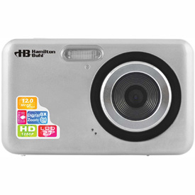 "HamiltonBuhl 12MP Digital Camera w/ Flash & 2.4"" LCD"