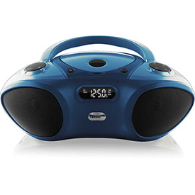 Click here to buy Boom Box with Bluetooth Receiver, CD/FM Media Player.