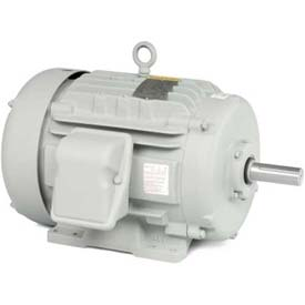 Baldor Automotive Duty Motor, AEM4100-4, 3 PH, 460 V, 15 HP, 1185 RPM, TEFC, 324U Frame