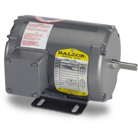 Baldor Motor AOM3543, .75HP, 1140RPM, 3PH, 60HZ, 56, 3428M, TEAO, F1