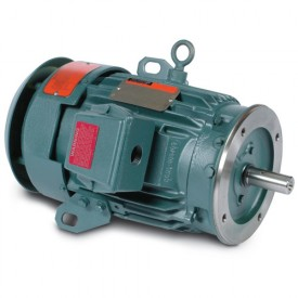 Baldor Motor CECP3663T, 5HP, 3505RPM, 3PH, 60HZ, 184TC, TEFC, FOOT