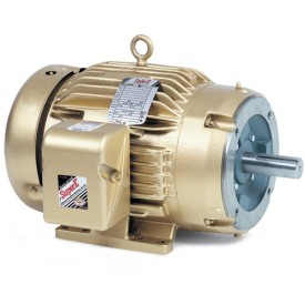 Baldor Motor CEM3581T, 1HP, 1765RPM, 3PH, 60HZ, 143TC, 0524M, TEFC, F1