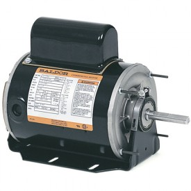 Baldor Motor CHC244A, .33 AIR OVERHP, 1700RPM, 1PH, 60HZ, 48Z, 1714