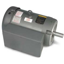 Baldor Single Phase Motor, CL3712T, 10 HP, 230 Volts, 1740 RPM, TEFC, 213TC Frame