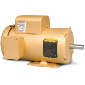 Baldor Single Phase Motor, EL3507, 0.75 HP, 115/208-230 Volts, 1755 RPM, TEFC, 56 Frame