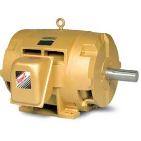 Baldor General Purpose Motor, 460 V, 125 HP, 3565 RPM, 3 PH, 404TS, DP