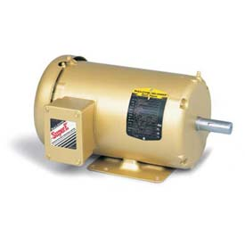 Baldor 3-Phase Motor, EM3550T-5, 1.5 HP, 3500 RPM, 143T Frame, Foot Mount, TEFC, 575 Volts
