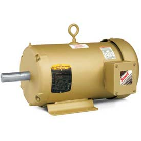 Baldor Metric IEC Motor, EMM3615, 3PH, 208-230/460V, 1750RPM, 3.7/5 KW/HP, 60Hz, D112M
