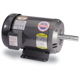 Baldor Motor GDL1605T, 5HP, 1725RPM, 1PH, 60HZ, 184TZ, 3646LC, ODTF, F