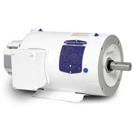 Baldor Washdown Motor IDWNM3609T, 3 Phase, 2 HP, 1725 RPM, 230/460 Volts, TENV, 182TC FR