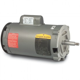 Baldor Motor JL1317A, 2HP, 3450RPM, 1PH, 60HZ, 56J, 3528L, OPEN, F1, N