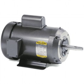 Baldor Motor JPL1406T, 3HP, 3450RPM, 1PH, 60HZ, 182JP, 3628L, OPEN, F1
