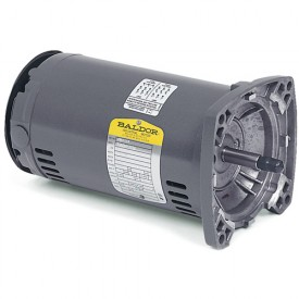 Baldor Motor JSM3111, .75HP, 3450RPM, 3PH, 60HZ, 56YZ, 3416M, OPEN, F