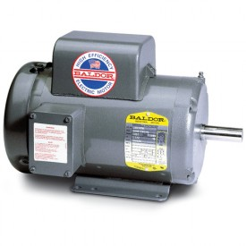 Baldor Motor L1405T-50, 2HP, 1425RPM, 1PH, 50HZ, 182T, 3628L, OPEN, F1