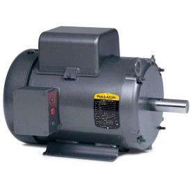 Baldor Motor L3408, .5HP, 3450RPM, 1PH, 60HZ, 48, 3413L, TEFC, F1, N