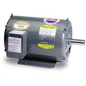 Baldor Motor M1223T, 3/1.3HP, 1725/1140RPM, 3PH, 60HZ, 184T, 3634M