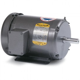Baldor Motor M1709T, 7.5/3.8HP, 1740/860RPM, 3PH, 60HZ, 215T, 3754