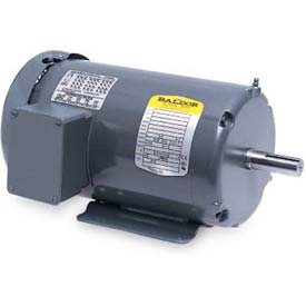 Baldor 50 Hertz Motor, M3112-57, 3 PH, 0.75 HP, 1425 IP23 RPM, 230/400 Volts, OPEN, 56 Frame