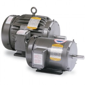 Baldor Motor M3457, .33HP, 3450RPM, 3PH, 60HZ, 48, 3410M, TENV, F1