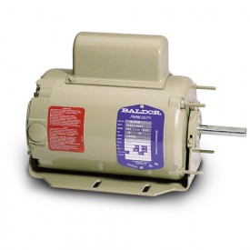 Baldor Motor PSC3413A, .25 AIR OVERHP, 1625RPM, 1PH, 60HZ, 48Z, 3411