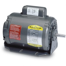 Baldor Motor RL1304A, .5HP, 1725RPM, 1PH, 60HZ, 56, 3418L, OPEN, F1, N