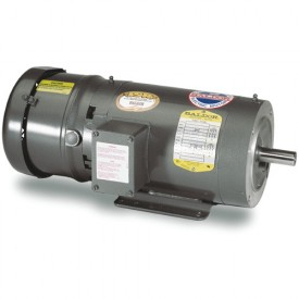 Baldor Motor VBM3538, .5HP, 1725RPM, 3PH, 60HZ, 56C, 3420M, TENV, F1