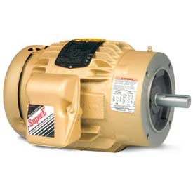 Baldor 3-Phase Motor, VEM2333T-5, 15 HP, 1765 RPM, 254TC Frame, C-Face Mount, TEFC, 575 Volts