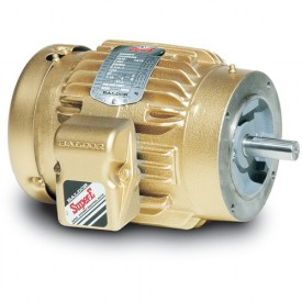Baldor Motor VEM3546T, 1HP, 1765RPM, 3PH, 60HZ, 143TC, 3524M, TEFC, F1