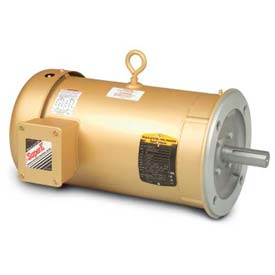 Baldor 3-Phase Motor, VEM3709T-5, 7.5 HP, 3470 RPM, 213TC Frame, C-Face Mount, TEFC, 575 Volts