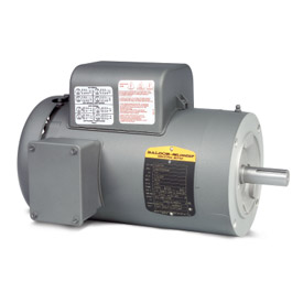 Baldor Motor VL3507, .75HP, 1725RPM, 1PH, 60HZ, 56C, 3428LC, TEFC, F